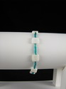 Mother-of-Pearl and Teal Bracelet